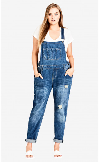 Overalls for The Plus Size Babe -
